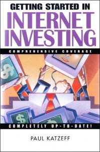 Getting Started in Internet Investing book cover